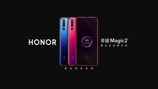 Honor Magic 2 render