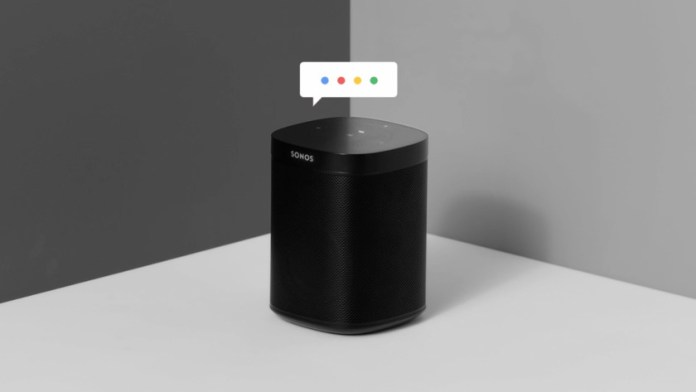 Sonos One Google Assistant
