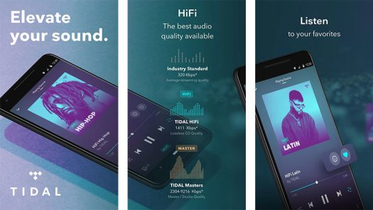 TIDAL - best music streaming apps for android