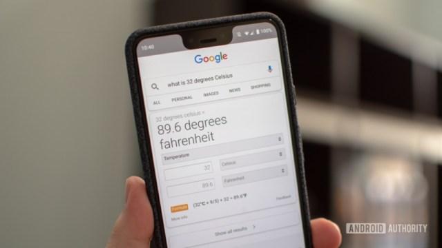 Ответ Google Поиска