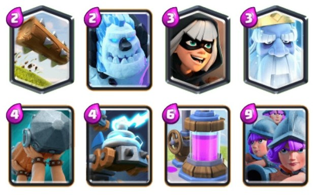 Legend Zappies 3 Musketeers good Clash Royale decks