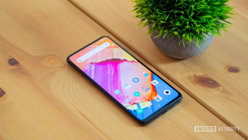 Phone with thin bezels -- Xiaomi Mi Mix 3