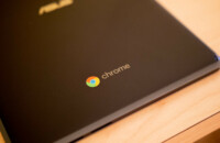 An Asus Chromebook tablet.