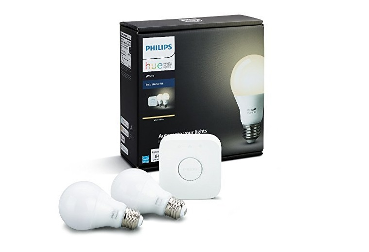 The Philips A19 smart bulbs starter kit Alexa smart home product