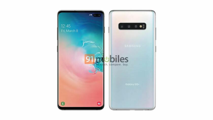 Samsung Galaxy S10 Plus Leaked Render