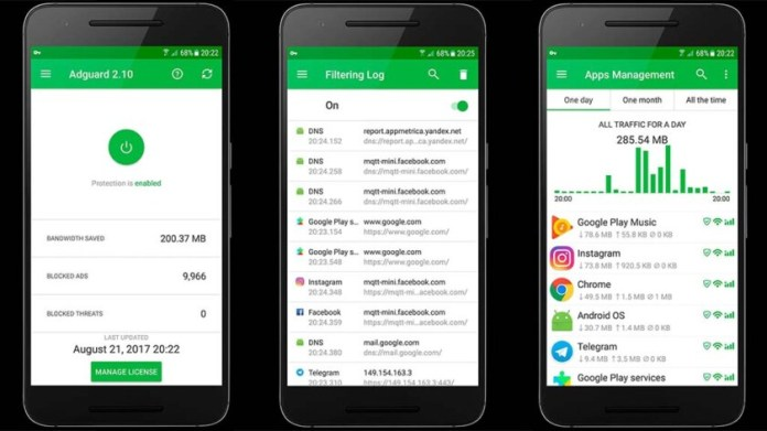 AdGuard - best ad blocker apps for android