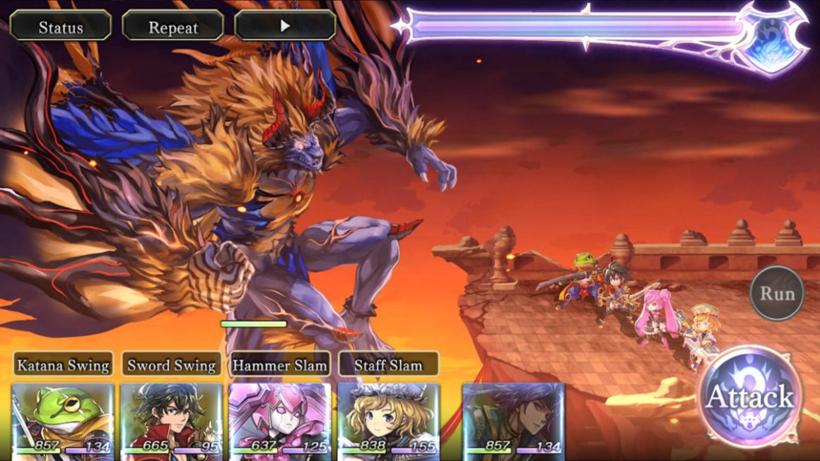 Another Eden - лучшие ролевые игры для Android