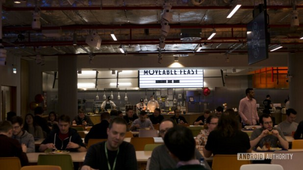 Facebook London Food Hall