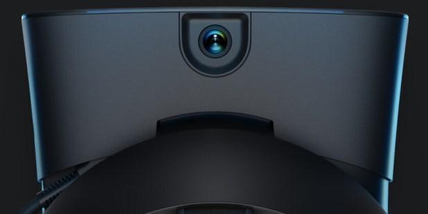 Top camera of the Oculus Rift S