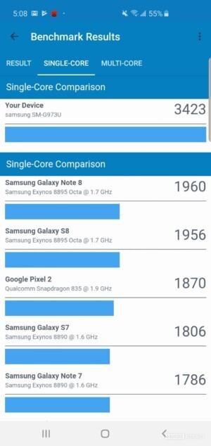 Samsung Galaxy S10 Benchmark Geekbench 4
