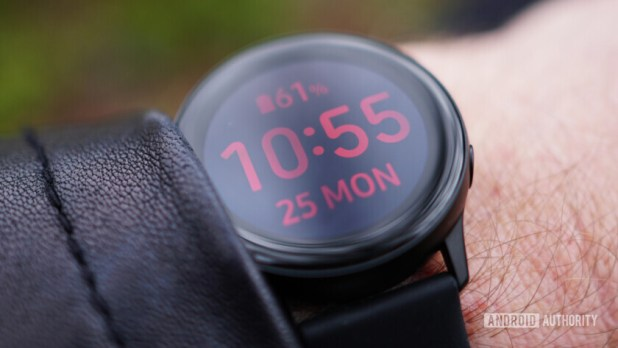Samsung Galaxy Watch Active outdoor visibility 2
