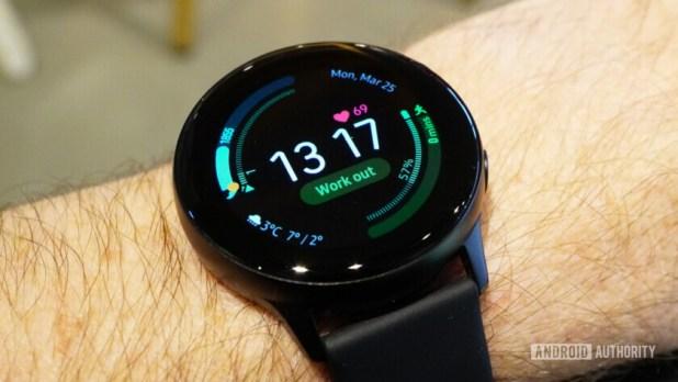 Samsung Galaxy Watch Active watchface 1
