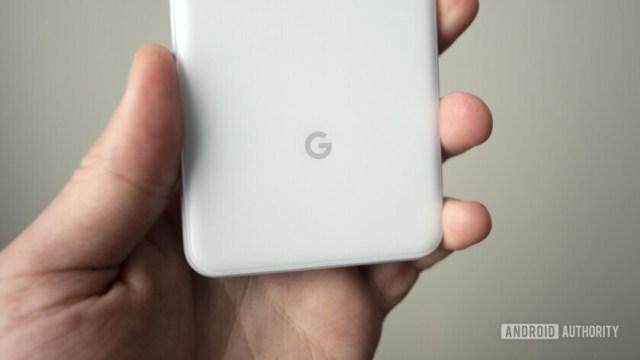 google pixel 3 google logosu g
