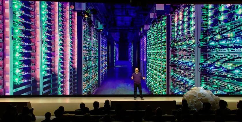 Google Stadia servers