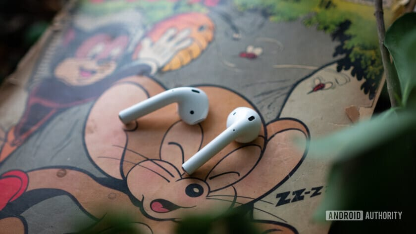 New AirPods 2 on comic book.