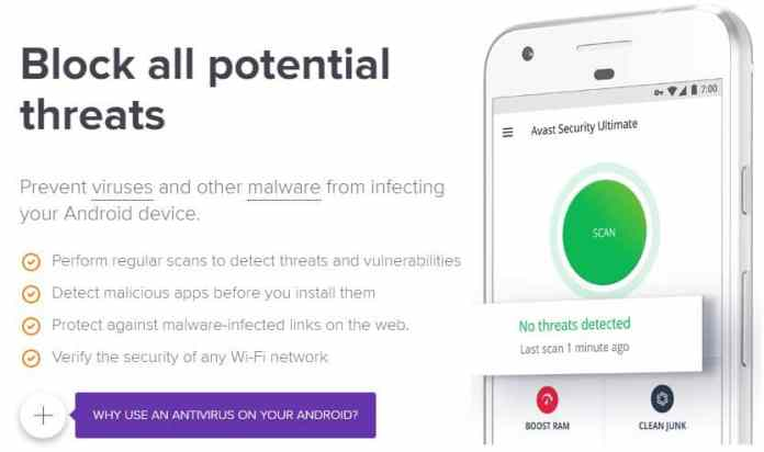 Avast Security Android