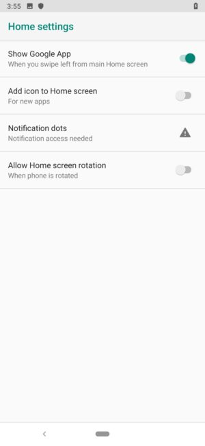 Black Shark 2 Review home settings