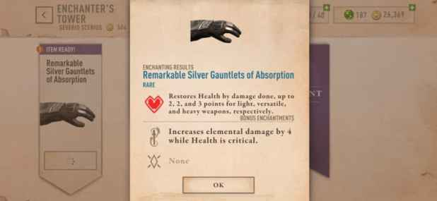 Elder Scrolls Blades tips and tricks health enchantment