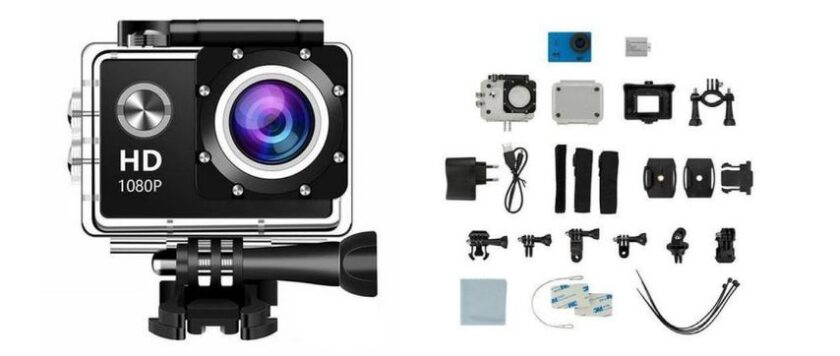 Full HD Action Cam with Accessories