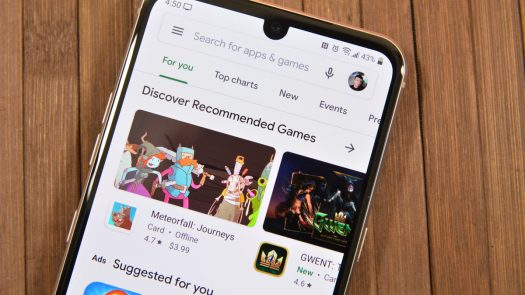 Google Play Store front page - best Android apps