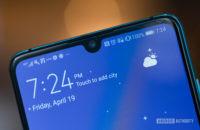 Huawei P30 selfie camera