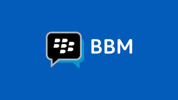 Render of the BBM logo.