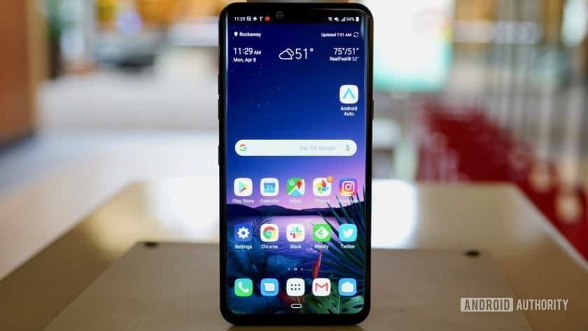 LG G8 ThinQ - phones with expandable memory