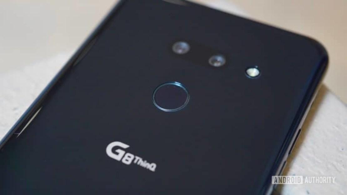 LG G8 ThinQ Review fingerprint reader