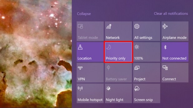 Windows 10 Focus assist priority mode - How to use notifications in Windows 10