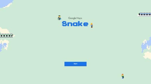 Google Maps Snake.
