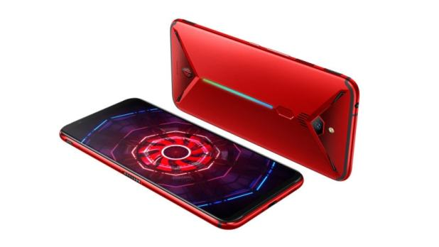 Nubia Red Magic 3 Multiple Angles Red