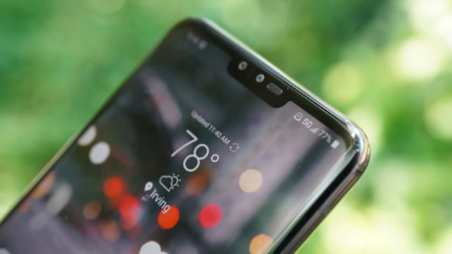 LG V50 ThinQ on Sprint 5G