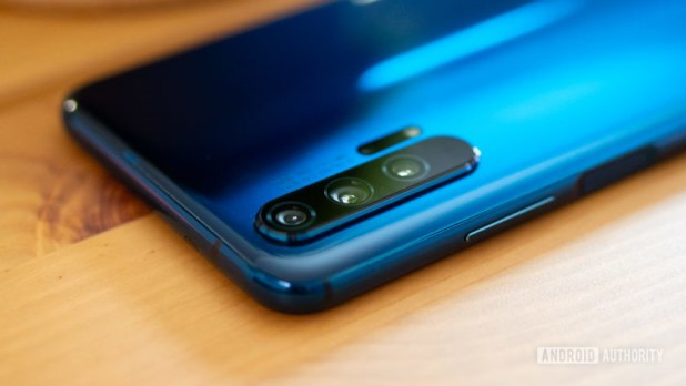 The Honor 20 Pro by Huawei sub-brand Honor.
