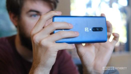 OnePlus 7 Pro taking a photo