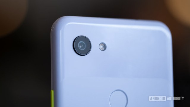 Pixel 3a back camera macro