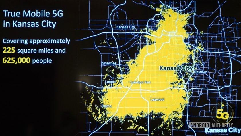 Sprint 5G Launch Kansas City covergae