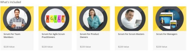 The Complete Learn To Scrum Bundle What's Included