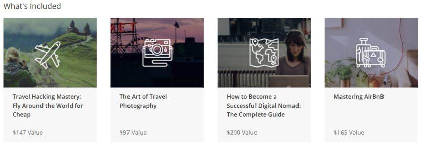The ultimate traveler bundle courses