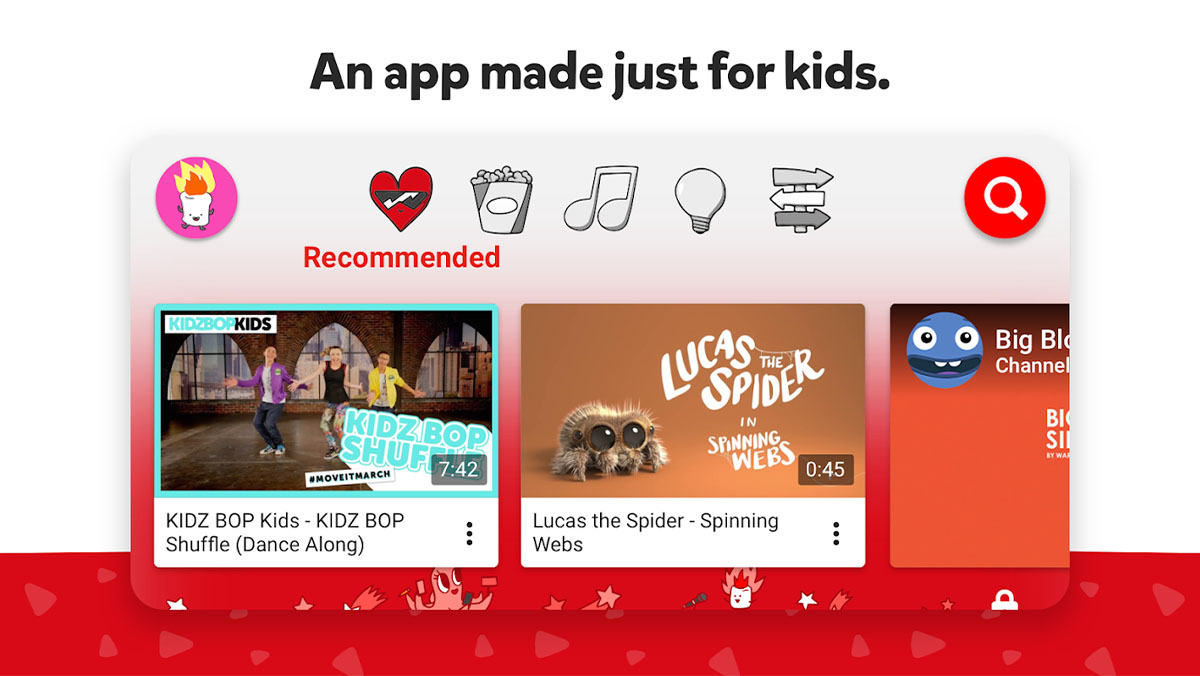 YouTube Kids is one of the best kids apps