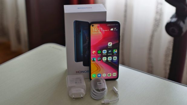 honor 20 pro box retail box package