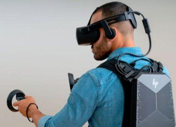 HP VR backpack
