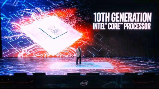 Intel 10th generation processor - computex 2019