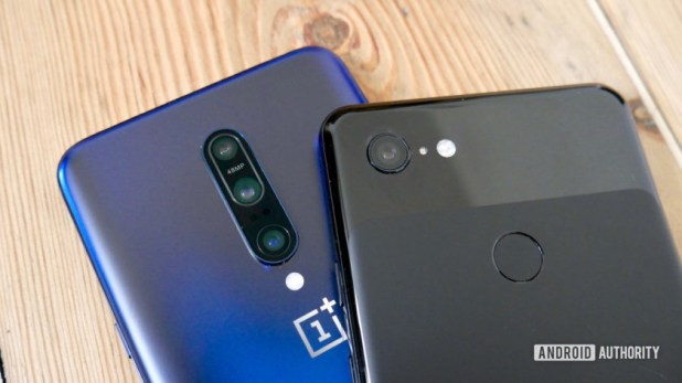 OnePlus 7 Pro vs Google Pixel 3 XL camera
