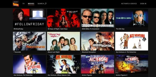 Sony Crackle movies
