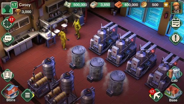 A screenshot of a breaking bad game for the 270th Android Apps Weekly