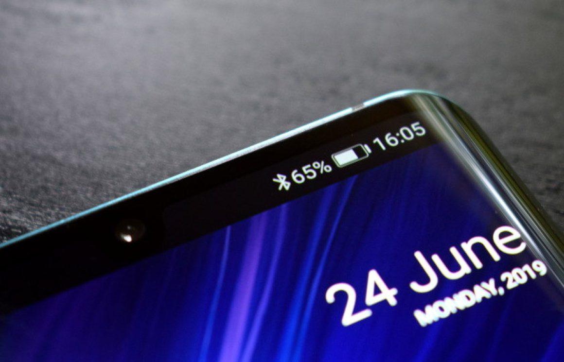 Значок меню уведомлений Android Bluetooth
