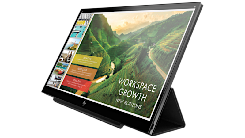 HP EliteDisplay S14 portable monitor