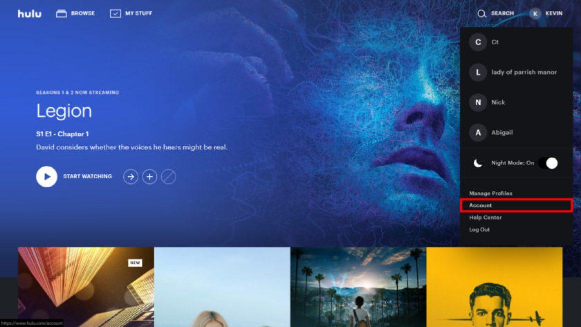Аккаунт Hulu Select