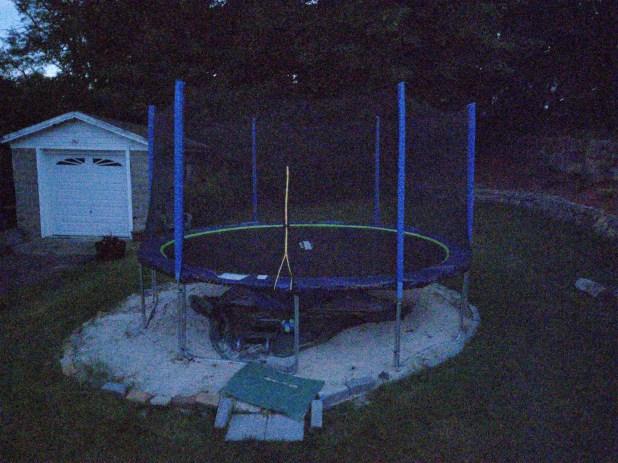 Motorola Moto Z4 Camera Sample trampoline night site
