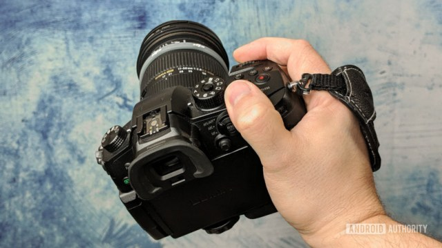 Panasonic GH5 DSLR camera Sigma lens back Jonathan Feist